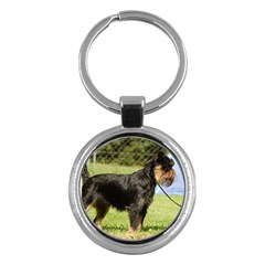 Brussels Griffon Full  Key Chains (Round)