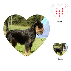 Brussels Griffon Full  Playing Cards (Heart)