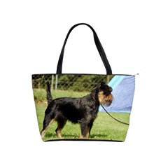 Brussels Griffon Full  Shoulder Handbags