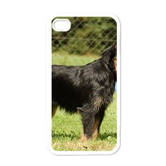 Brussels Griffon Full  Apple iPhone 4 Case (White)