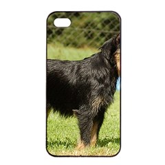 Brussels Griffon Full  Apple iPhone 4/4s Seamless Case (Black)