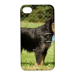 Brussels Griffon Full  Apple iPhone 4/4S Hardshell Case with Stand