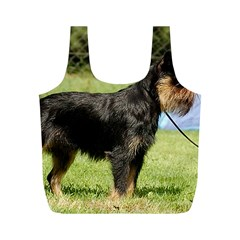 Brussels Griffon Full  Full Print Recycle Bags (M)