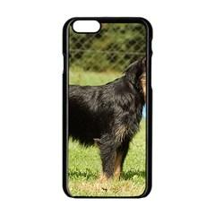 Brussels Griffon Full  Apple iPhone 6/6S Black Enamel Case