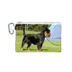 Brussels Griffon Full  Canvas Cosmetic Bag (S)