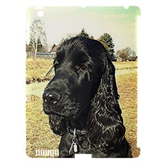 Black English Cocker Spaniel  Apple iPad 3/4 Hardshell Case (Compatible with Smart Cover)