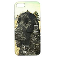 Black English Cocker Spaniel  Apple iPhone 5 Hardshell Case with Stand
