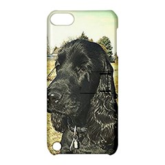 Black English Cocker Spaniel  Apple iPod Touch 5 Hardshell Case with Stand