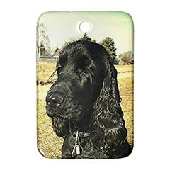 Black English Cocker Spaniel  Samsung Galaxy Note 8.0 N5100 Hardshell Case