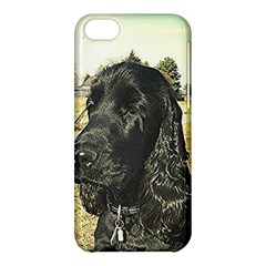 Black English Cocker Spaniel  Apple iPhone 5C Hardshell Case