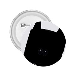 Peeping German Shepherd Bi Color  2.25  Buttons