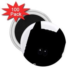 Peeping German Shepherd Bi Color  2.25  Magnets (100 pack)