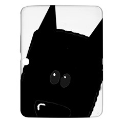 Peeping German Shepherd Bi Color  Samsung Galaxy Tab 3 (10.1 ) P5200 Hardshell Case