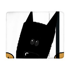 Peeping German Shepherd Bi Color  Samsung Galaxy Tab Pro 8.4  Flip Case