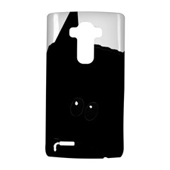 Peeping German Shepherd Bi Color  LG G4 Hardshell Case