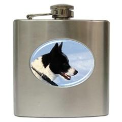 Karelian Bear Dog Hip Flask (6 oz)