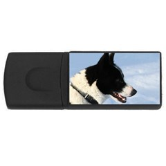 Karelian Bear Dog USB Flash Drive Rectangular (2 GB)