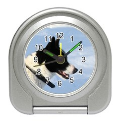 Karelian Bear Dog Travel Alarm Clocks