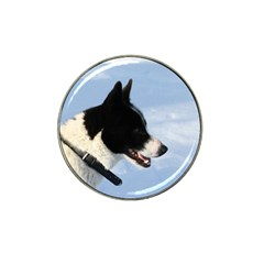 Karelian Bear Dog Hat Clip Ball Marker