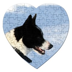 Karelian Bear Dog Jigsaw Puzzle (Heart)