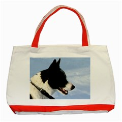 Karelian Bear Dog Classic Tote Bag (Red)