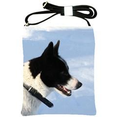 Karelian Bear Dog Shoulder Sling Bags