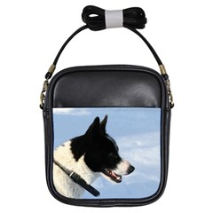 Karelian Bear Dog Girls Sling Bags