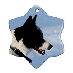 Karelian Bear Dog Snowflake Ornament (2-Side)