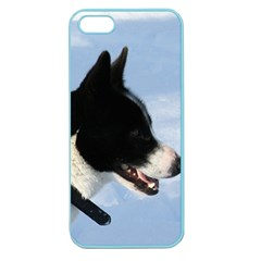 Karelian Bear Dog Apple Seamless iPhone 5 Case (Color)