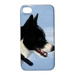 Karelian Bear Dog Apple iPhone 4/4S Hardshell Case with Stand