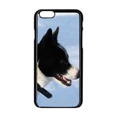 Karelian Bear Dog Apple iPhone 6/6S Black Enamel Case