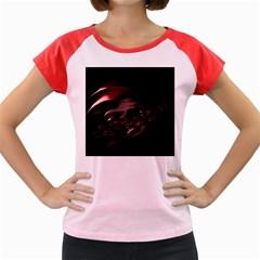 Fractal Mathematics Abstract Women s Cap Sleeve T-Shirt