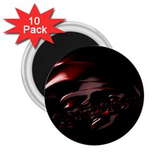 Fractal Mathematics Abstract 2.25  Magnets (10 pack)