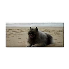 Keeshond On Beach  Cosmetic Storage Cases