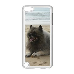 Keeshond On Beach  Apple iPod Touch 5 Case (White)