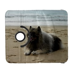 Keeshond On Beach  Galaxy S3 (Flip/Folio)