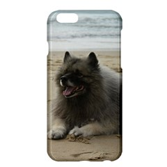 Keeshond On Beach  Apple iPhone 6 Plus/6S Plus Hardshell Case