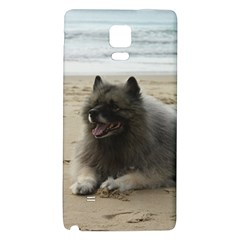 Keeshond On Beach  Galaxy Note 4 Back Case
