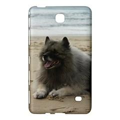 Keeshond On Beach  Samsung Galaxy Tab 4 (8 ) Hardshell Case