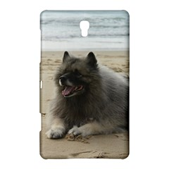 Keeshond On Beach  Samsung Galaxy Tab S (8.4 ) Hardshell Case