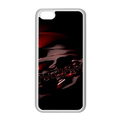 Fractal Mathematics Abstract Apple iPhone 5C Seamless Case (White)