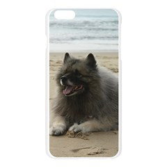 Keeshond On Beach  Apple Seamless iPhone 6 Plus/6S Plus Case (Transparent)