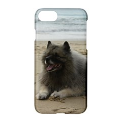 Keeshond On Beach  Apple iPhone 7 Hardshell Case