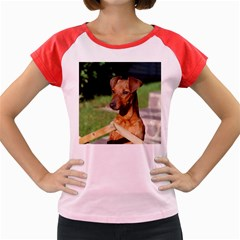Min Pin On Gate  Women s Cap Sleeve T-Shirt