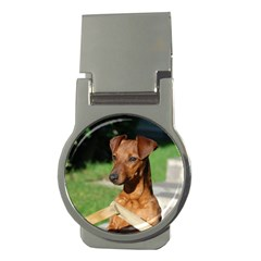 Min Pin On Gate  Money Clips (Round)
