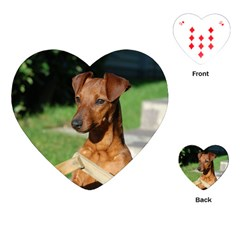 Min Pin On Gate  Playing Cards (Heart)