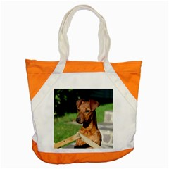 Min Pin On Gate  Accent Tote Bag