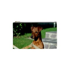 Min Pin On Gate  Cosmetic Bag (Small)