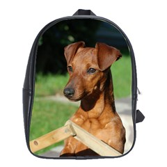 Min Pin On Gate  School Bags(Large)