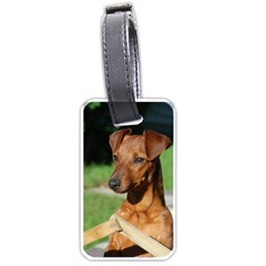 Min Pin On Gate  Luggage Tags (One Side)